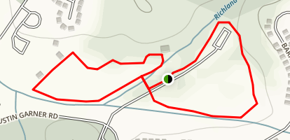 Yellow and Orange Loop Trail Map