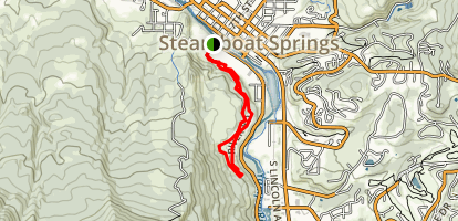 Bluff's Loop Trail Map