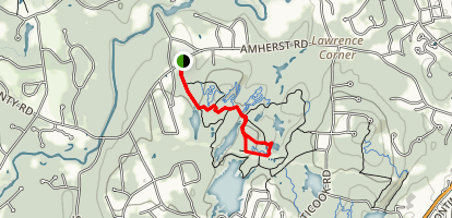 Horse Hill Trail Map