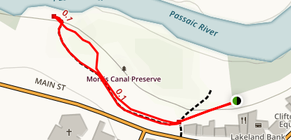 Morris Canal Map