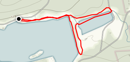 Swimming Pool Reservoir Loop Trail Map