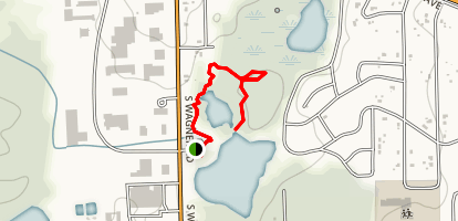 Dolph Park Nature Area Trail Map