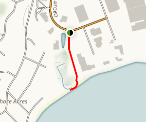 Blue Beach Quonset Point Trail Map