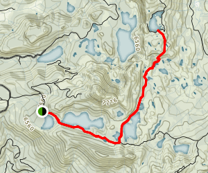 Crooked Lakes Trail Map