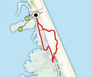 Dunes and Seaside Trail Map