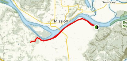 Matsqui Trail Map