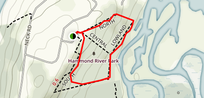 Hammond River Nature Trail  Map