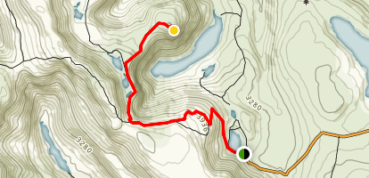 Mount Bridges Map