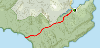 South Cape Track Map