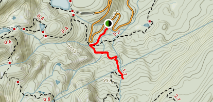 Alberta Falls Trail Map