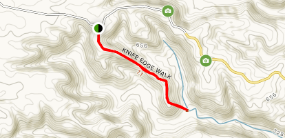 Charles Knife Edge Walk Map