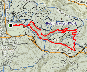 Tom Roberts Loop Map