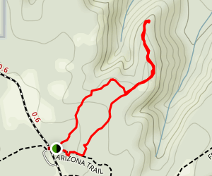 Vishnu Trail Map