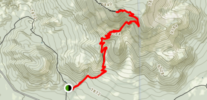 Kendrick Mountain Southside Trail (CLOSED) Map