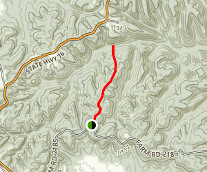 Woods Trail Map