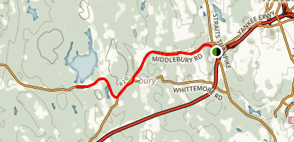 Middlebury Trail Map