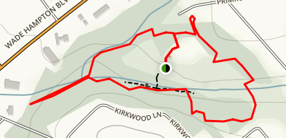 Timmons Park Loop Map
