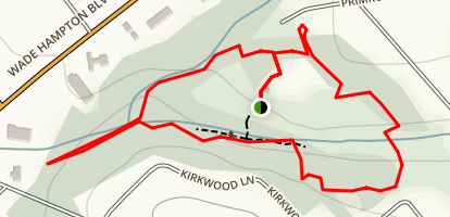 Timmons Park Mountain Bike Loop Map