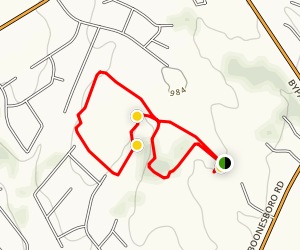 Winchester Walking Trail Map