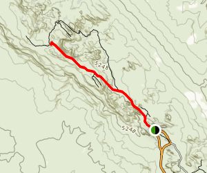 Double O Arch Trail Map