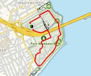 Staten Island Shoreline Walk Map