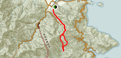 Yakiyama-goe Trail Map