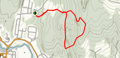 Ruffin's Ridgeway Loop Map