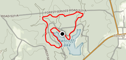Ratcliff Lake Trail Map