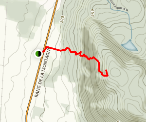 Mount Yamaska Trail Map