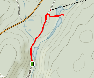Oxtongue Rapids Trail Map