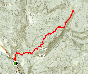 Red Dirt Trail Map