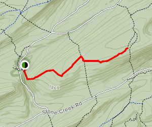 Mid-State Trail Map