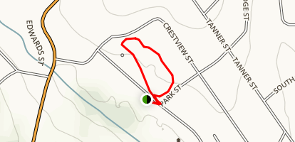 Crestview Park Loop Map