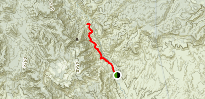 Pueblo Canyon Trail Map