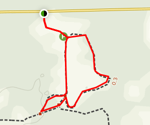 Braidwood Dunes and Savanna Loop Map