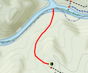 Earls Ford Access Trail Map