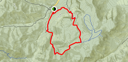 Mesa Trail #13 Map
