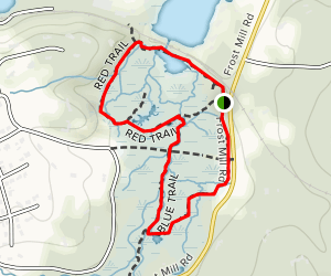 Shu Swamp Preserve Loop Trail Map