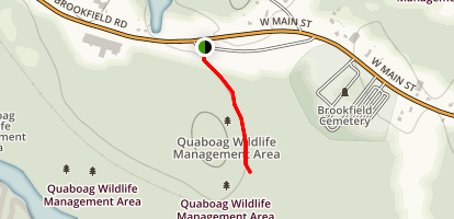 Quaboaq Wildlife Refuge Trail Map
