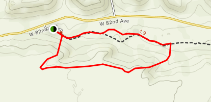 Leyden Creek Trail Map