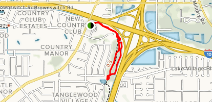 Wooded Trail Map