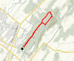 Antennes Trail Map