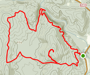 Mudlick Trail Map