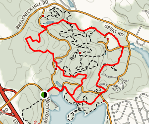Lincoln Wood State Park Loop Trail Map