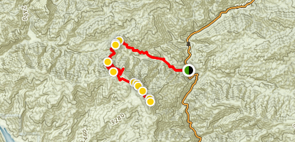 Warm Springs Mountain Map