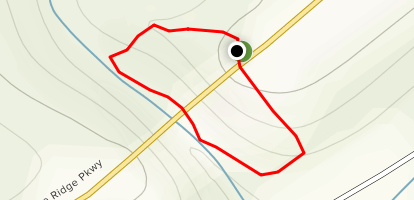 Round Meadow Creek Trail Map