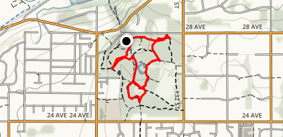 South Surrey Urban Forests Map
