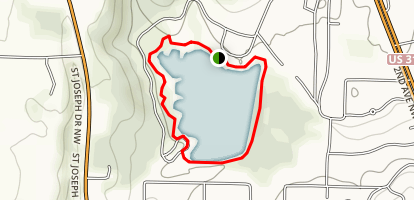 Sportsman Lake Trail Map