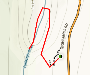 Dry Falls Trail Map