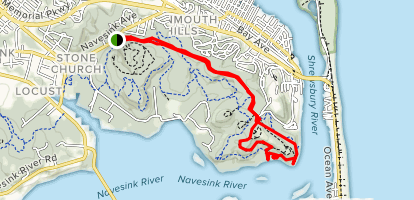 The Hook Trail Map